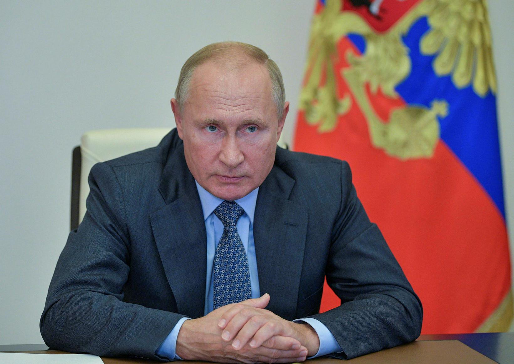 Vladimir Pútín Rússlandsforseti.