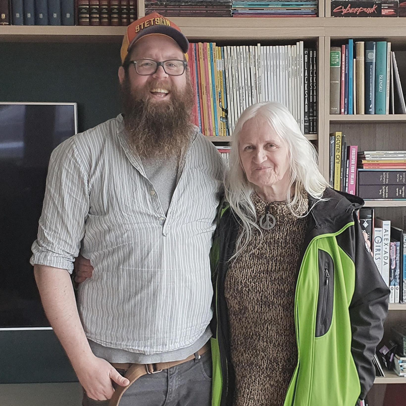 Snæbjörn Ragnarsson og Andrea Jónsdóttir.