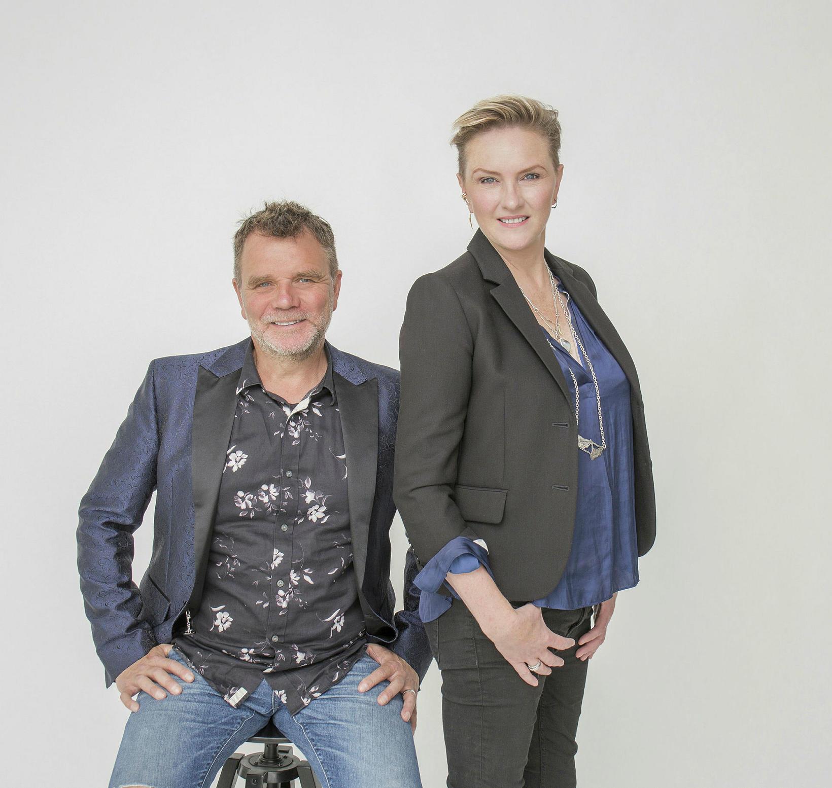 Tryggvi Þorsteinsson og Erla Dögg Ingjaldsdóttir.