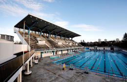 Laugardalslaug swimming pool.