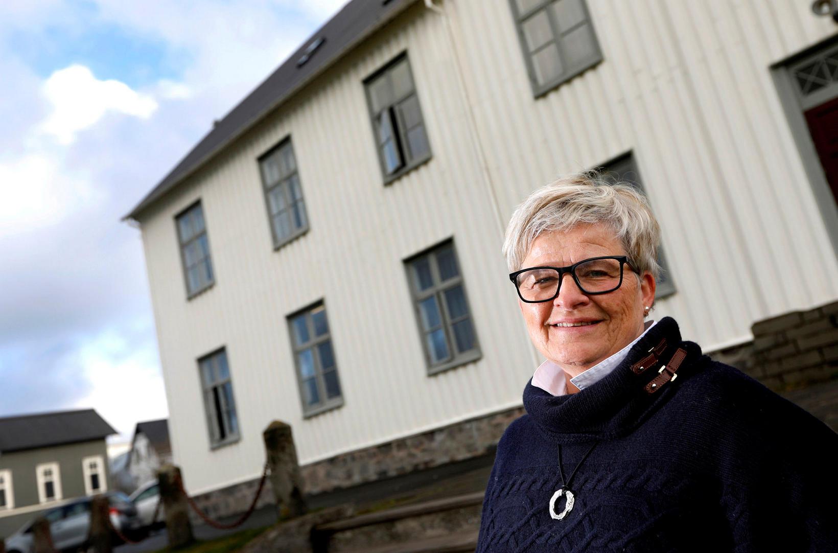 Elísabet Siemsen, rektor Menntaskólans við Sund, segir að verið sé …