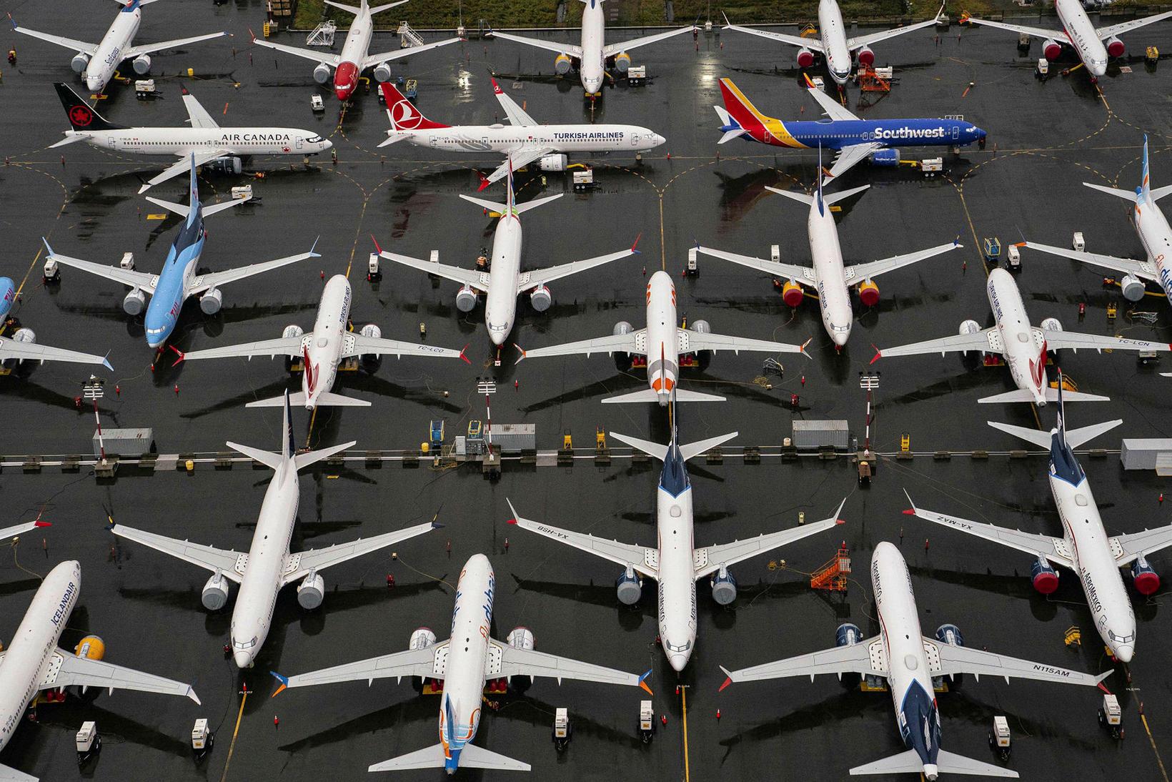 Boeing 737 Max þotur fara brátt í loftið að nýju.