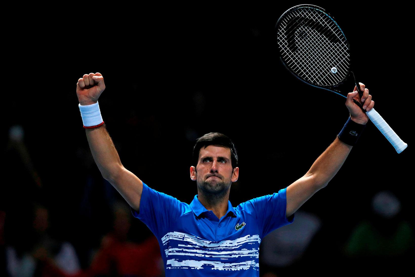 Novak Djokovic hefur trú á tækinu.