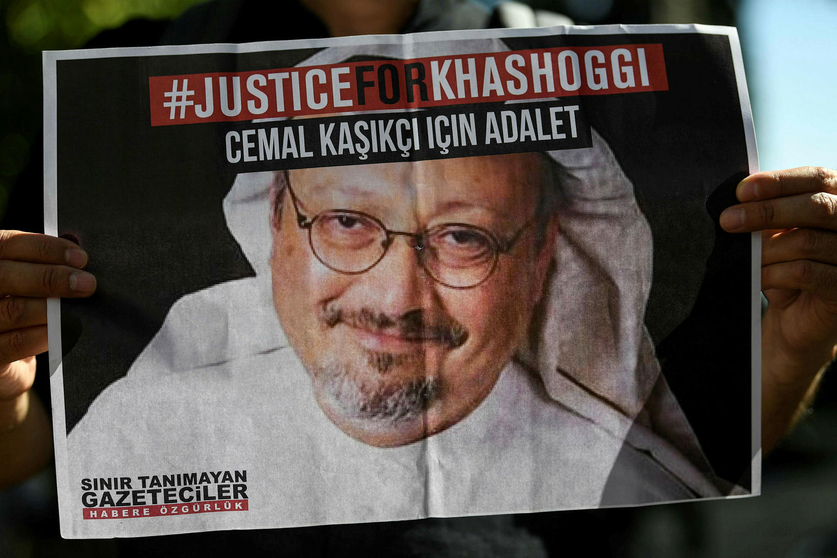 Margir minnast enn Jamal Khashoggi, blaðamannsins sem myrtur var af …
