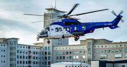 TF-GRO, one of the Icelandic Coast Guard's helicopters.