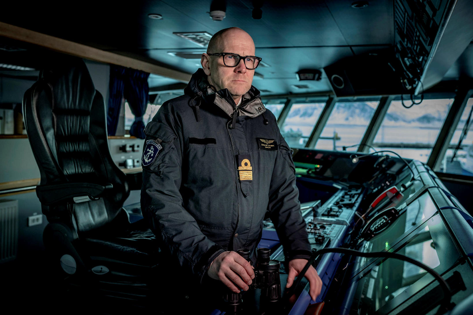 Georg Lárusson, director of the Icelandic Coast Guard.