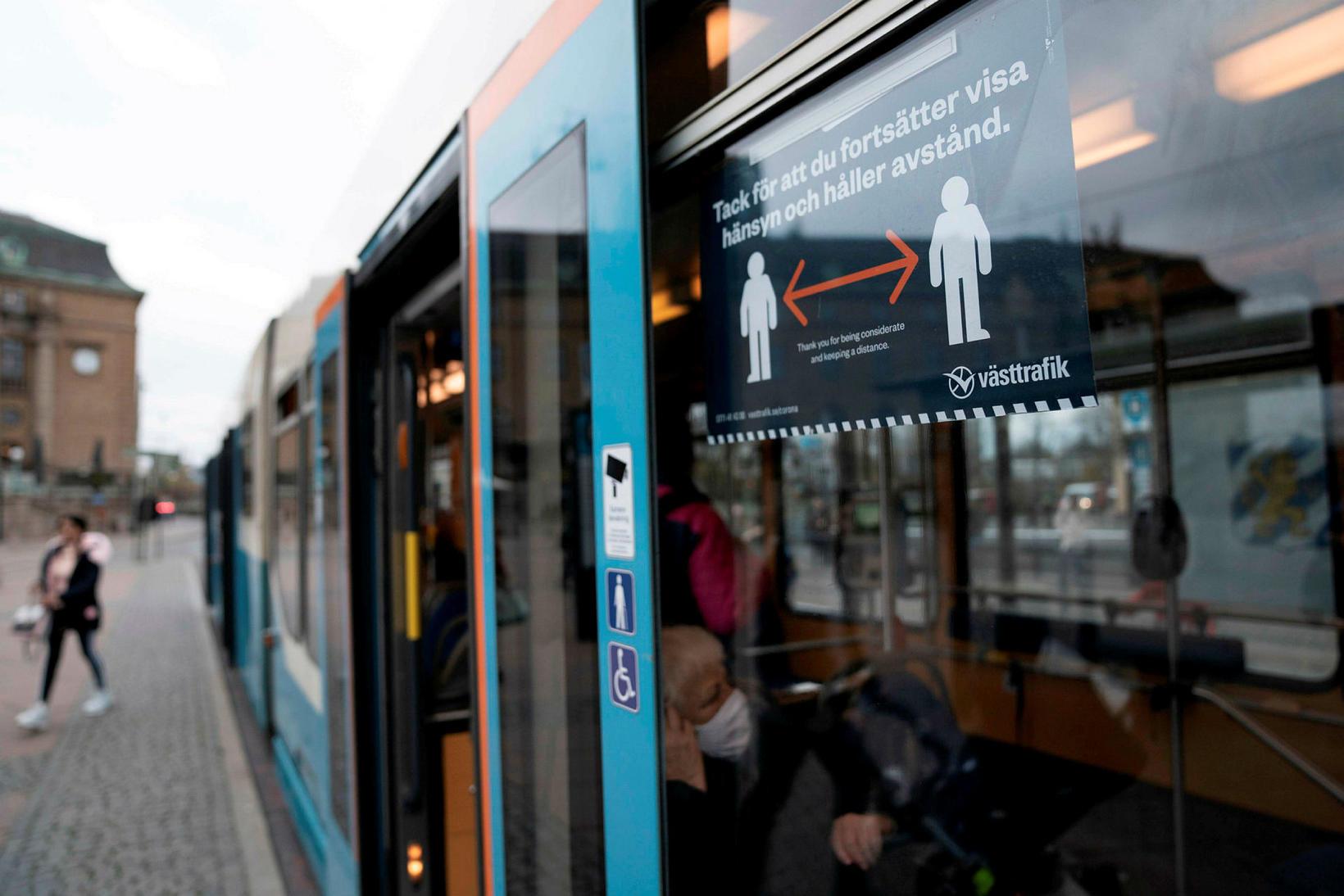 Sporvagn í Gautaborg.