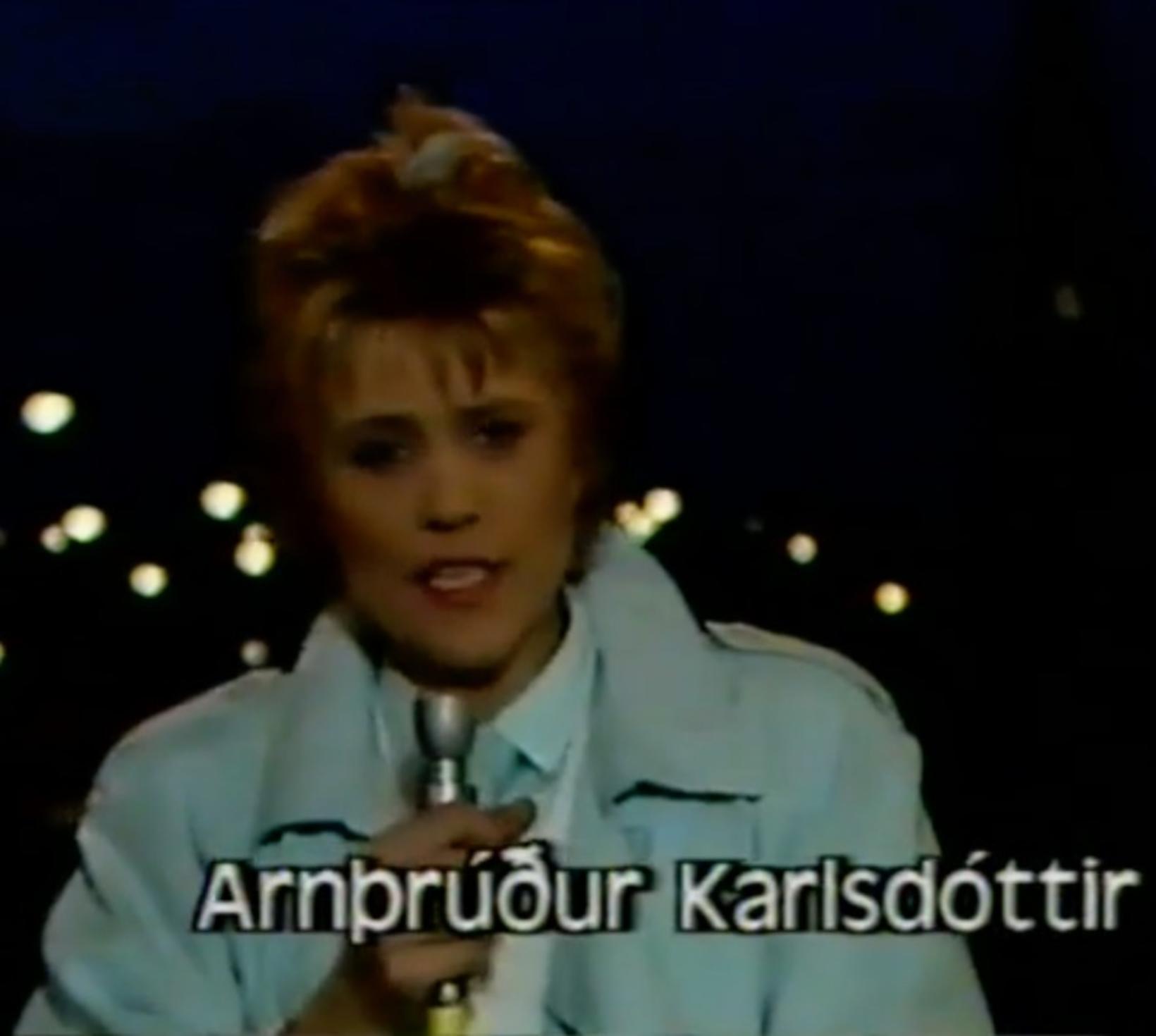 Arnþrúður Karlsdóttir, útvarpsstjóri Útvarps Sögu, var á fréttavakt Ríkisútvarpsins í …