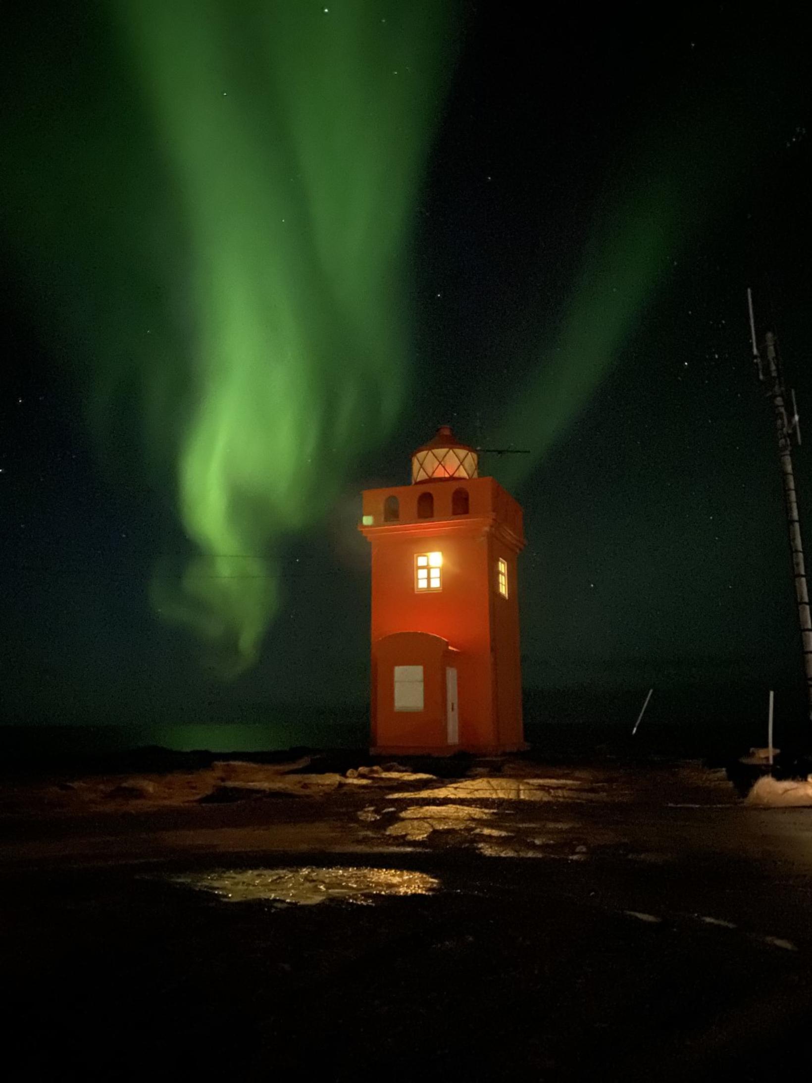 The lighthouse in Raufarhöfn.