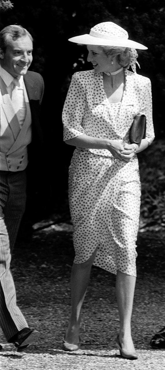 Barry Mannakee of Díana prinsessa árið 1985.