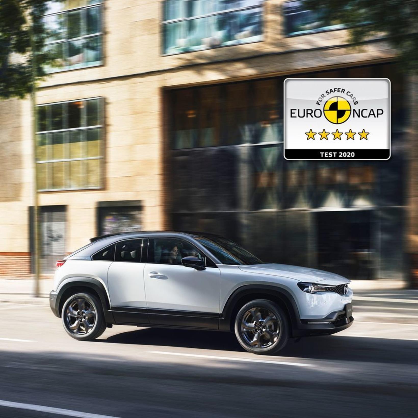 Mazda MX-30 er 100% hreinn rafbíll.