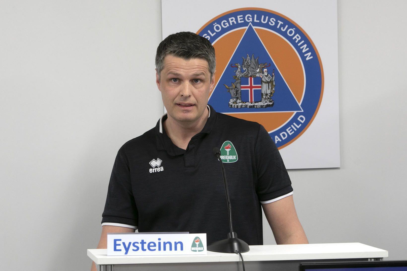 Eysteinn Pétur Lárusson, framkvæmdastjóri Breiðabliks.