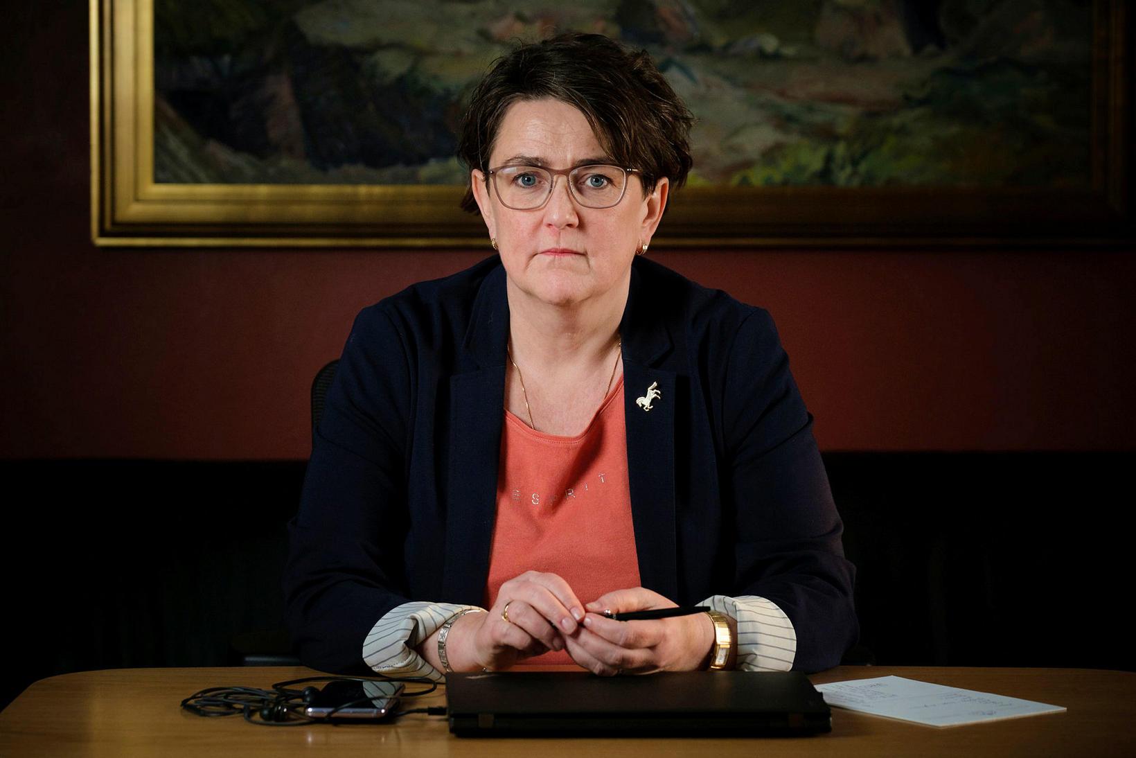 Anna Kolrbrún Árnadóttir, þingmaður Miðflokksins.