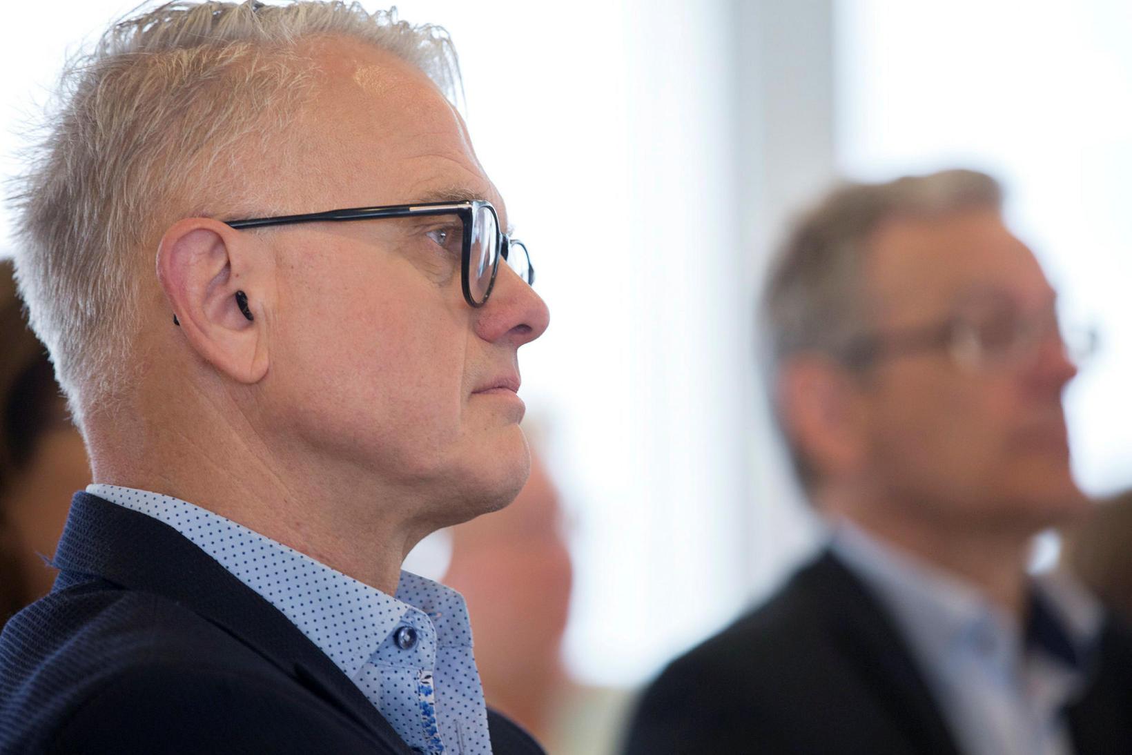 Andrés Magnússon framkvæmdastjóri Samtaka verslunar og þjónustu.