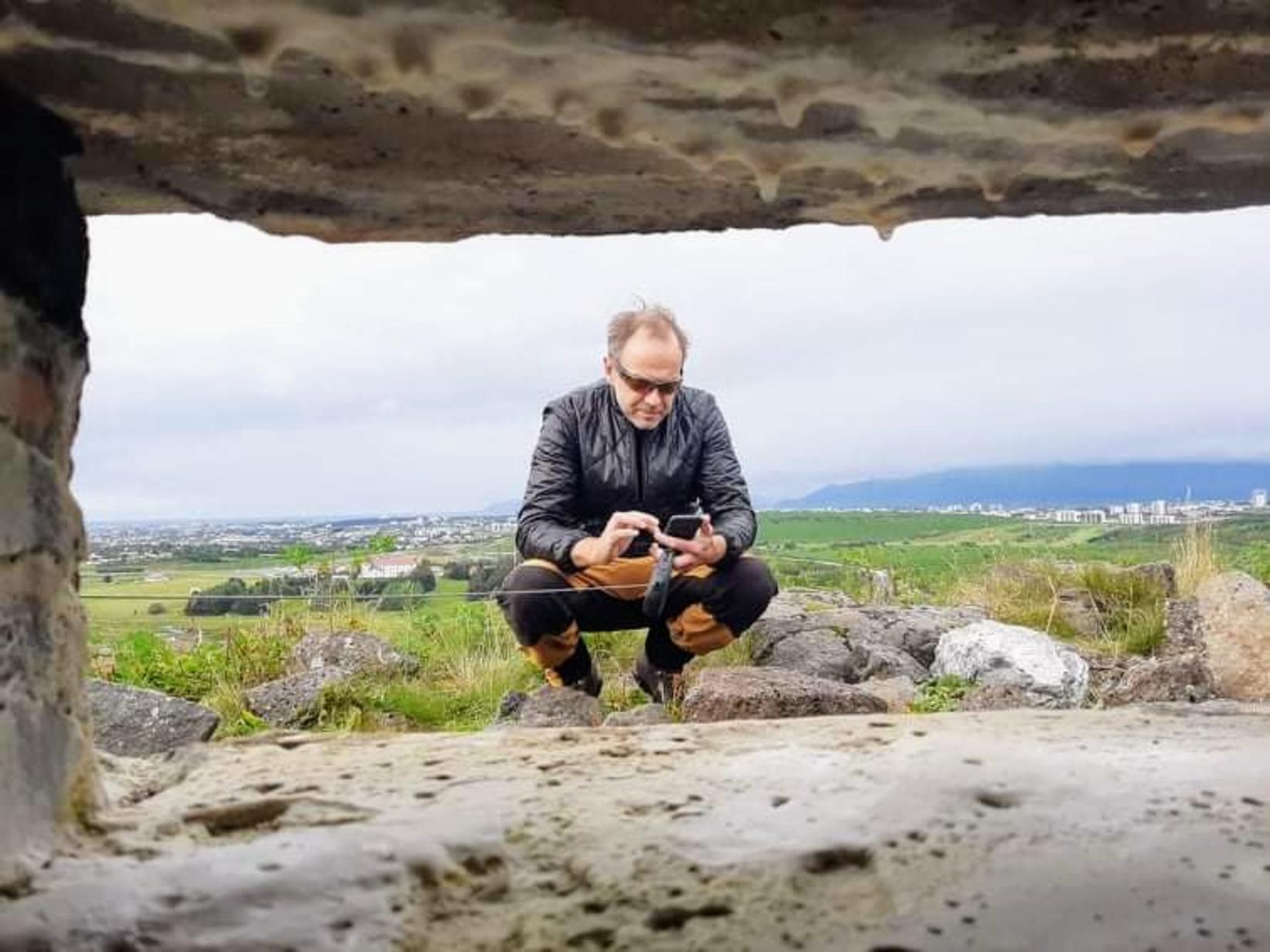 Stefán Máni kveður heimildavinnuna fyrir bækurnar alltaf skemmtilega og ber …