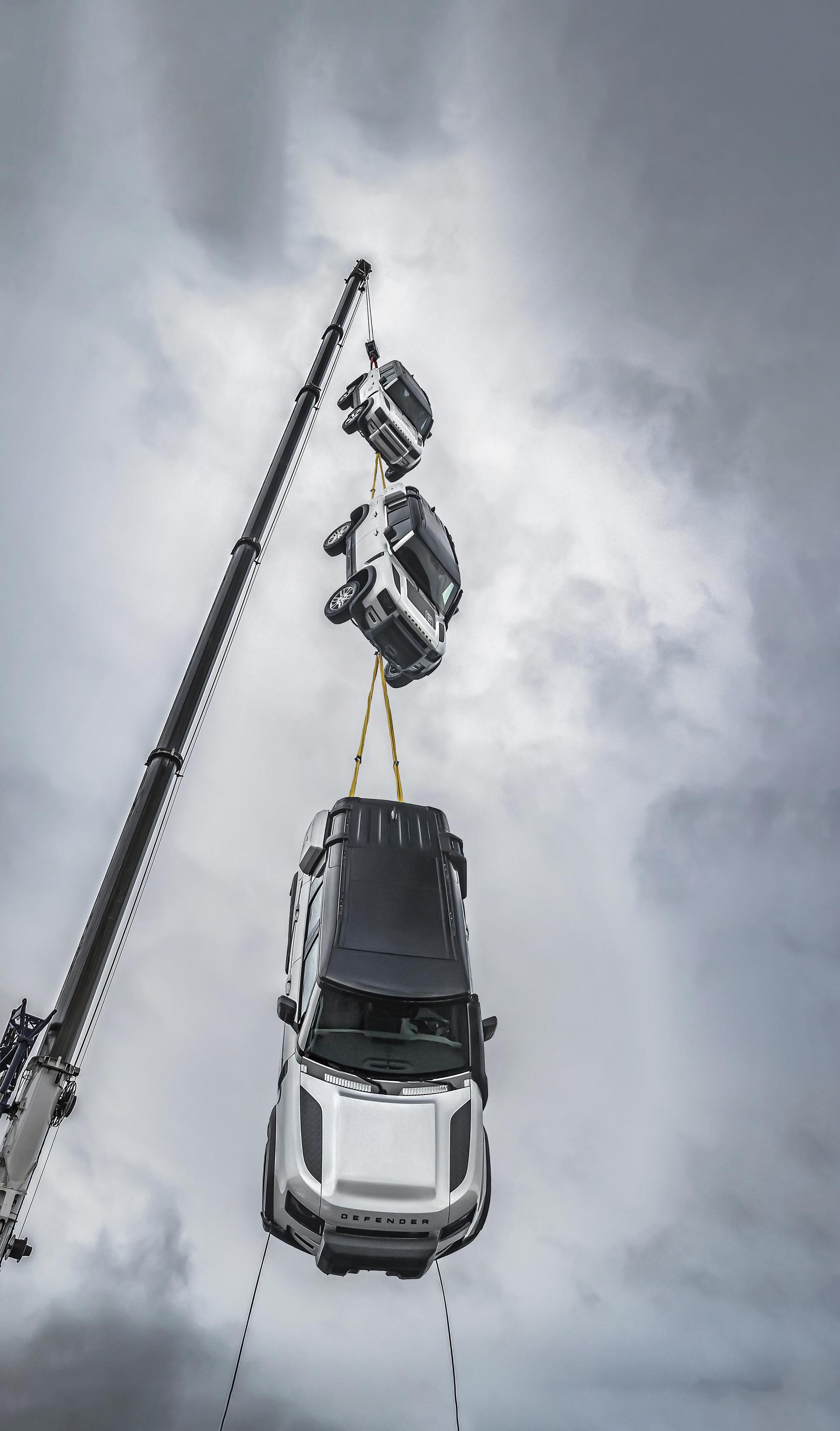 Top Gear segir Land Rover Defender sterkbyggðasta bíl á byggðu …