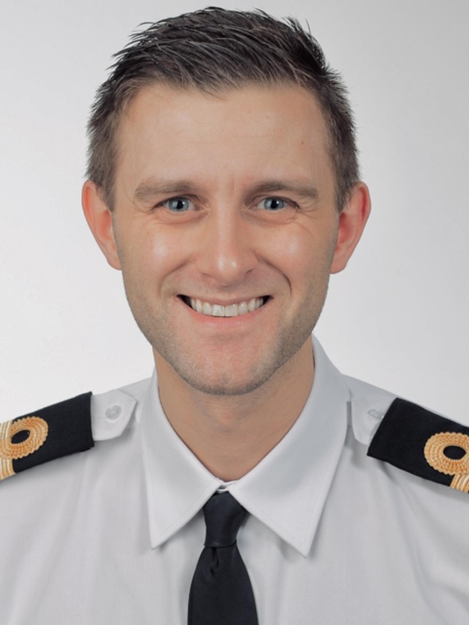 Ásgeir Erlendsson, upplýsingafulltrúi Landhelgisgæslunnar.