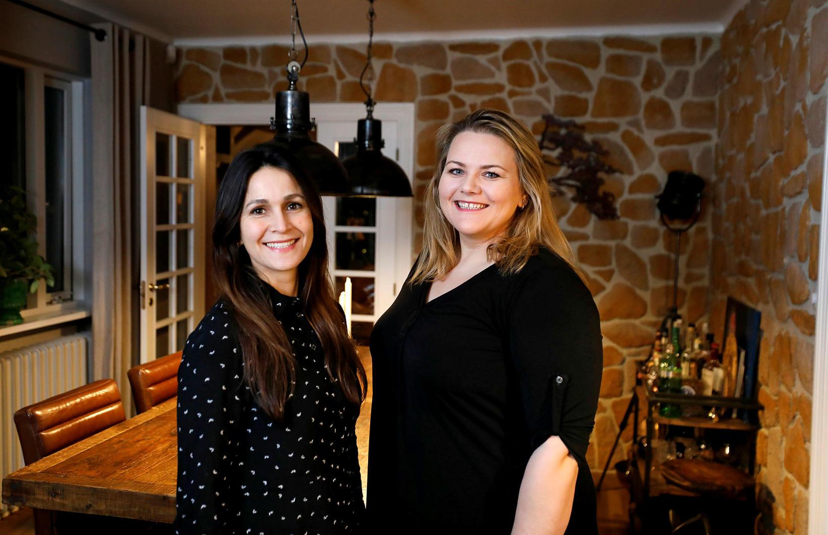 Sálfræðingarnir Paola Cardenes og Soffía Elín Sigurðardóttir eru með námskeið …