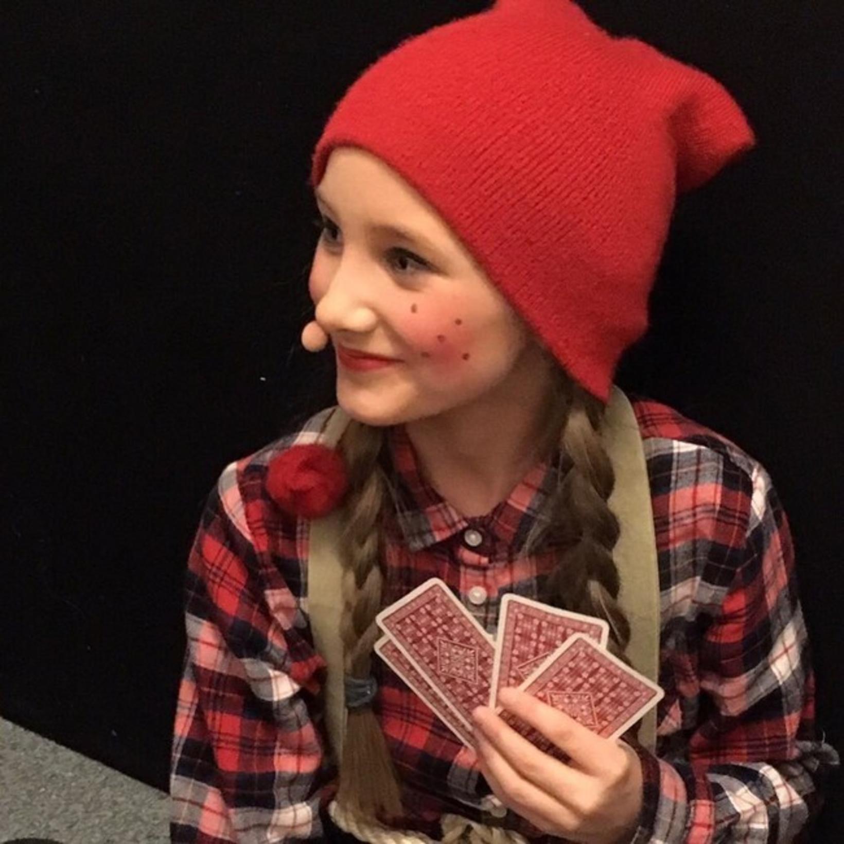 Kristine Sølvberg Hagen, 13 ára gömul leikkona sem fer með …