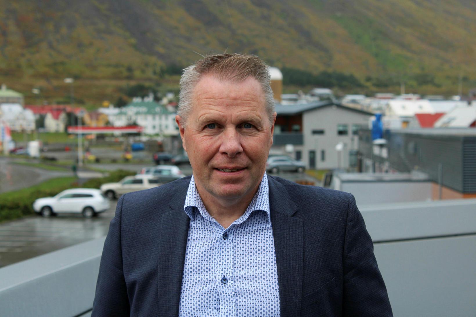 Birgir Gunnarsson, bæjarstjóri Ísafjarðarbæjar.