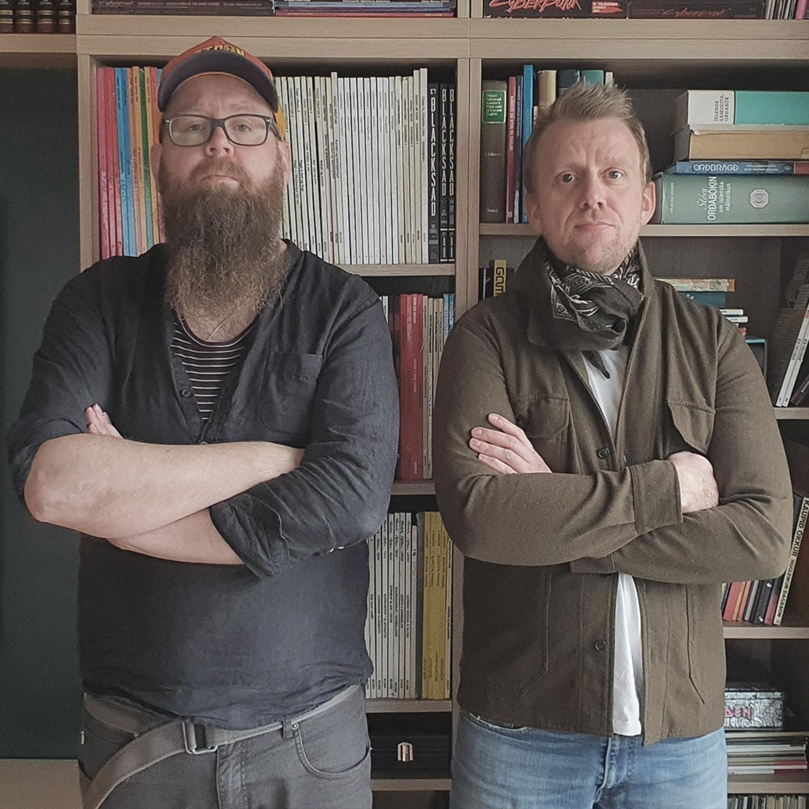 Snæbjörn Ragnarsson og Helgi Seljan ræddu saman í hlaðvarpinu, Snæbjörn …