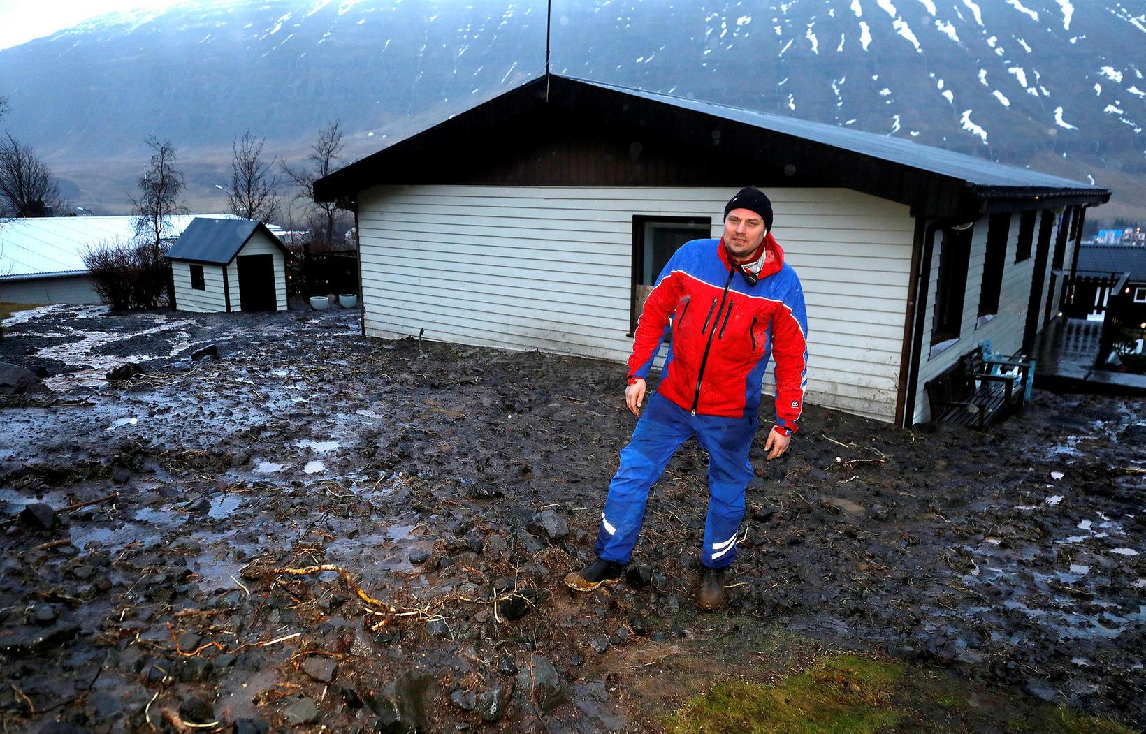 Seyðisfjörður er eitt drullusvað.