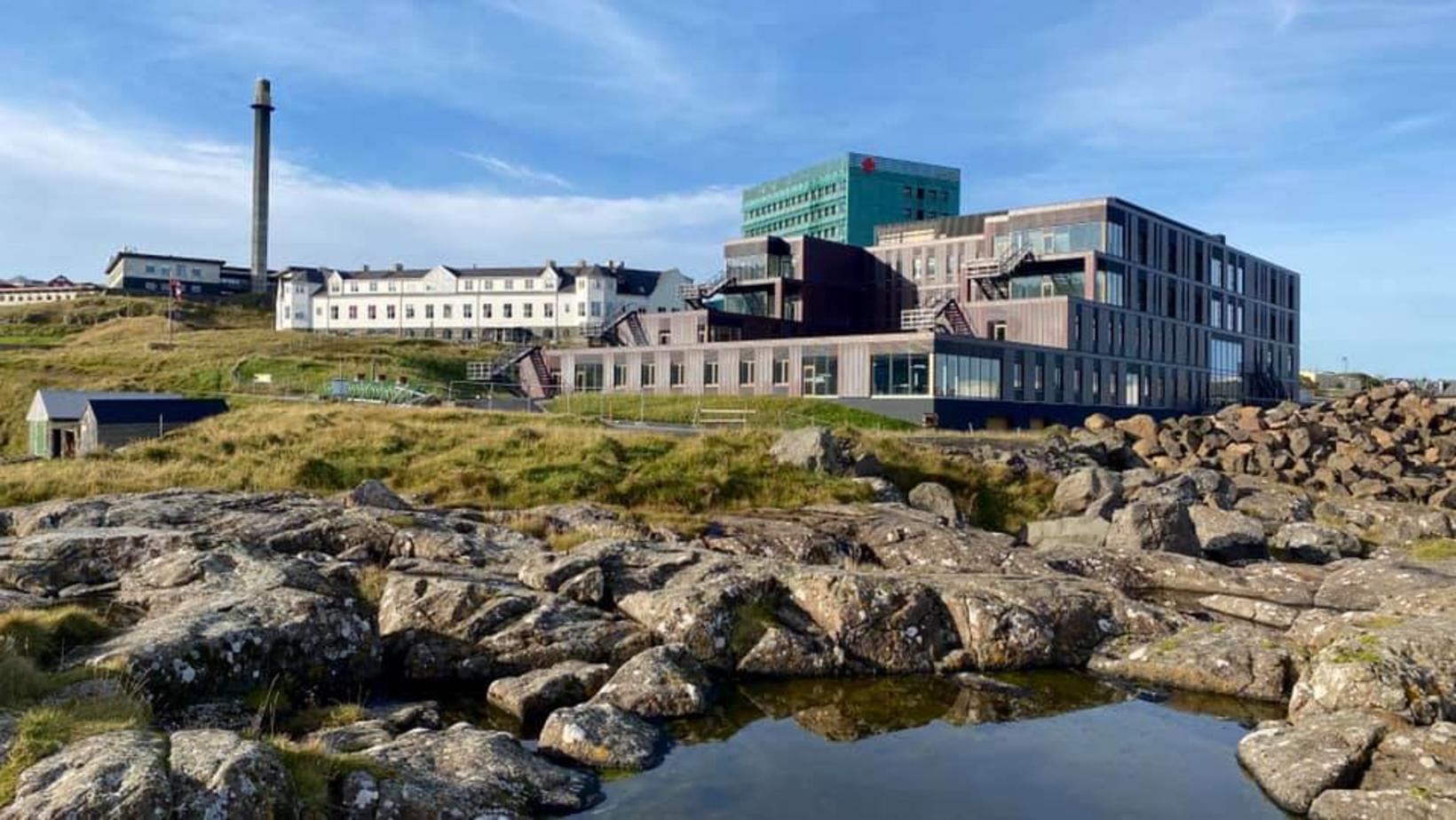 Landssjúkrahúsið í Þórshöfn í Færeyjum.