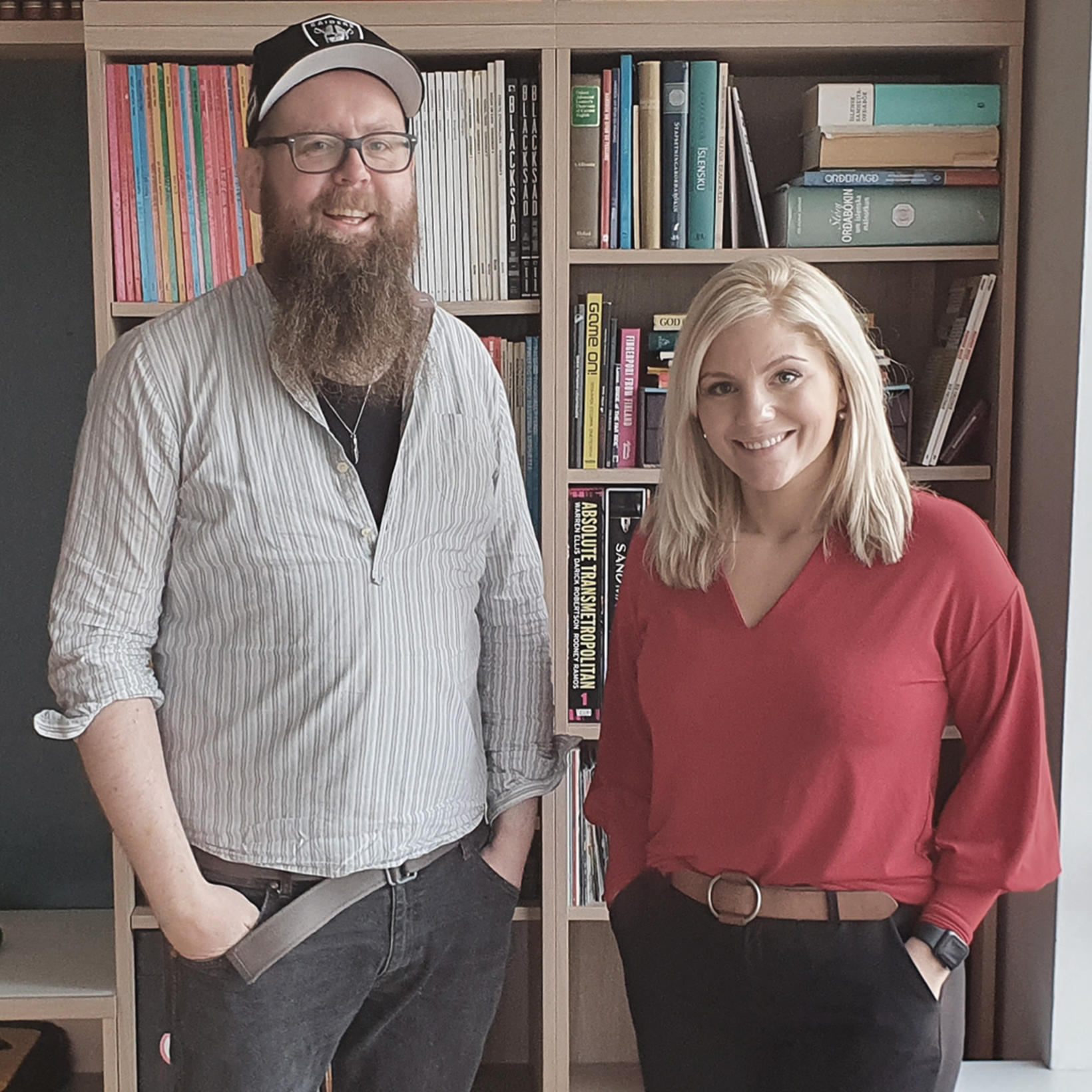 Snæbjörn Ragnarsson og Eva Laufey Kjaran Hermannsdóttir.