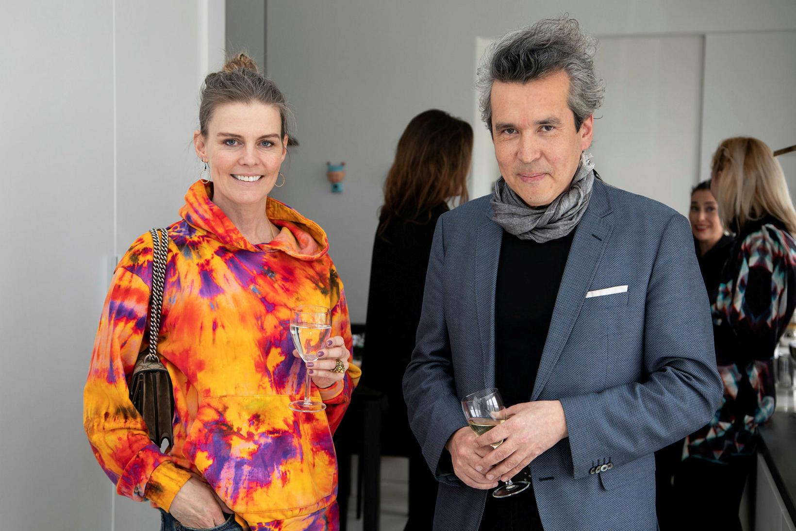 Lilja Pálmadóttir og Ari Alexander.