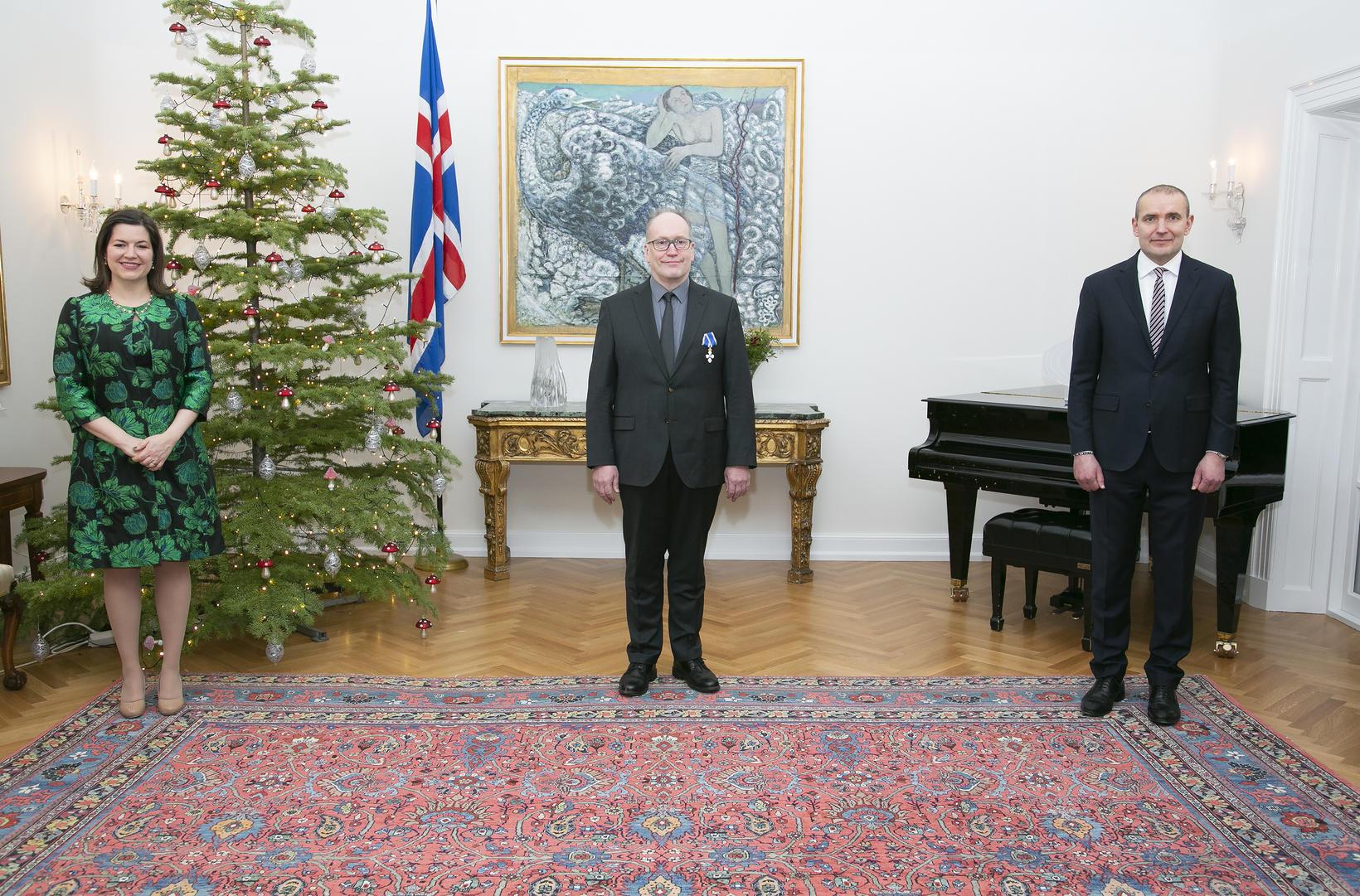 Pétur Ármannsson á Bessastöðum.