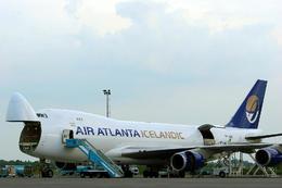 Atlanta stundar fraktflug á milli Evrópu, Asíu, Afríku og Bandaríkjanna.