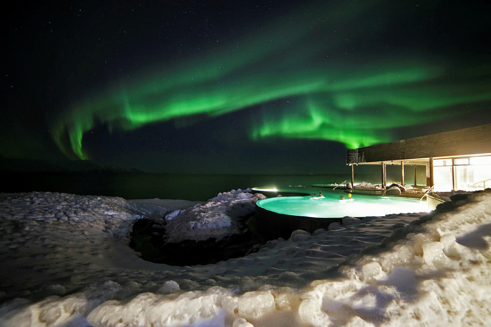 By GeoSea, the geothermal sea baths, in Húsavík.