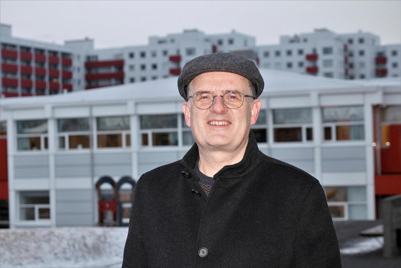 Principal Helgi Gíslason.