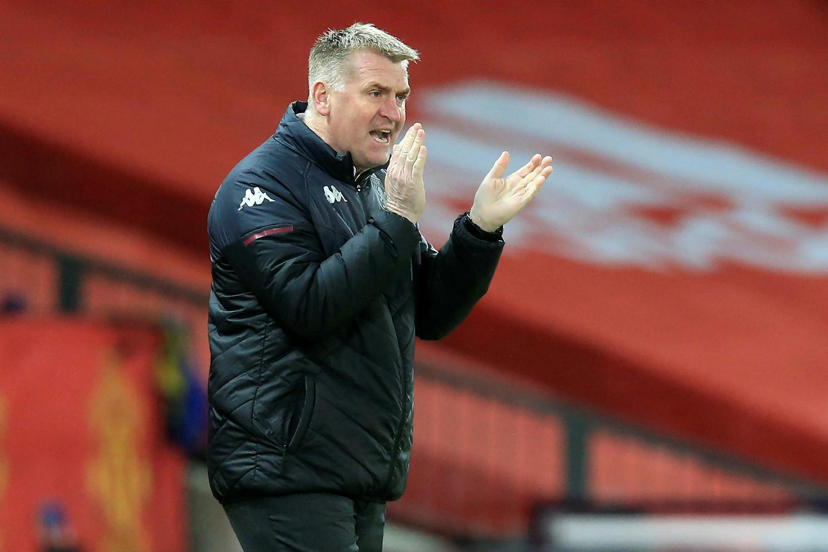 Dean Smith er með Aston Villa á góðum stað í …