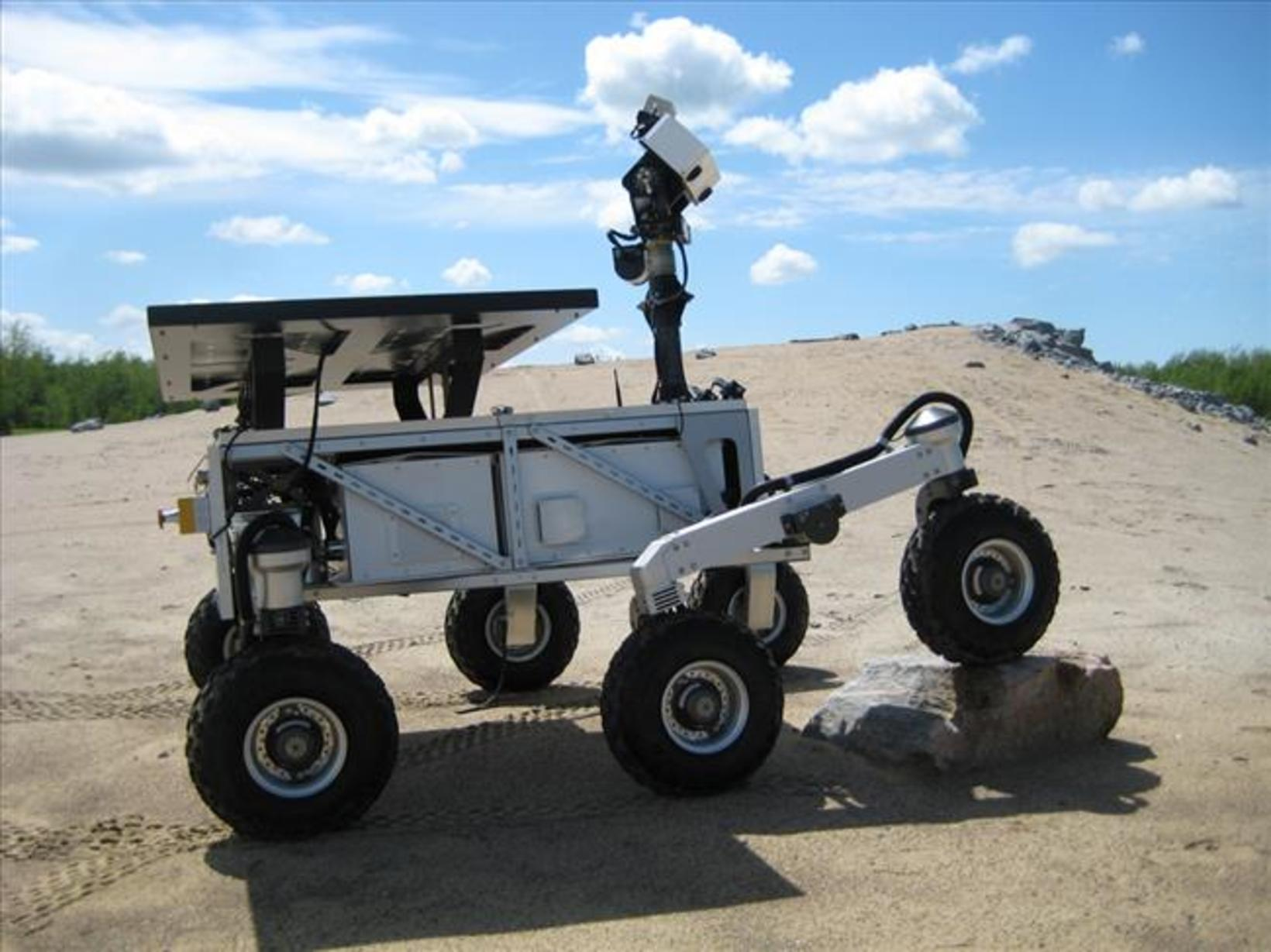 The Mars Exploration Science Rover (MESR).