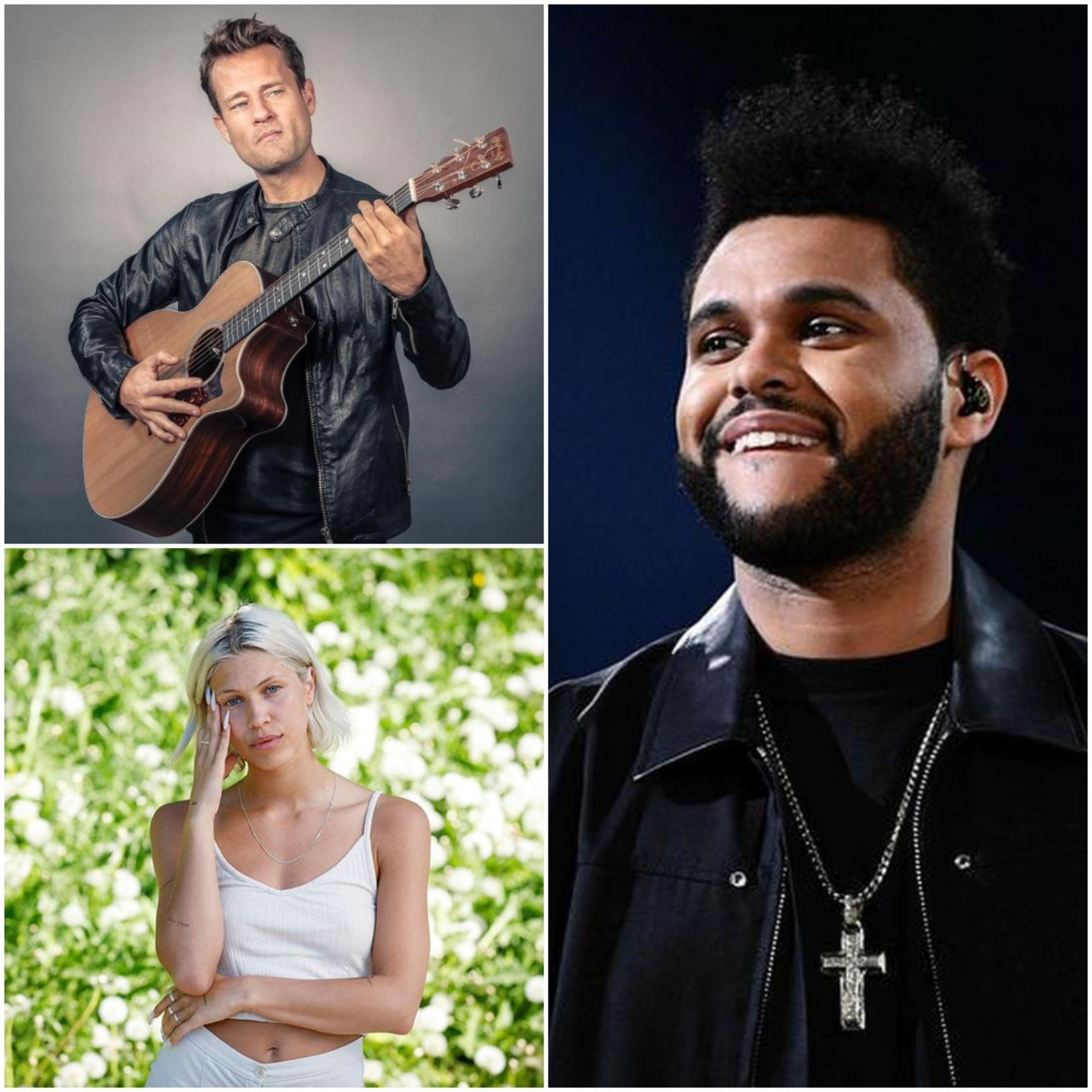The Weeknd, BRÍET og Ingó áttu vinsælustu lög ársins 2020.