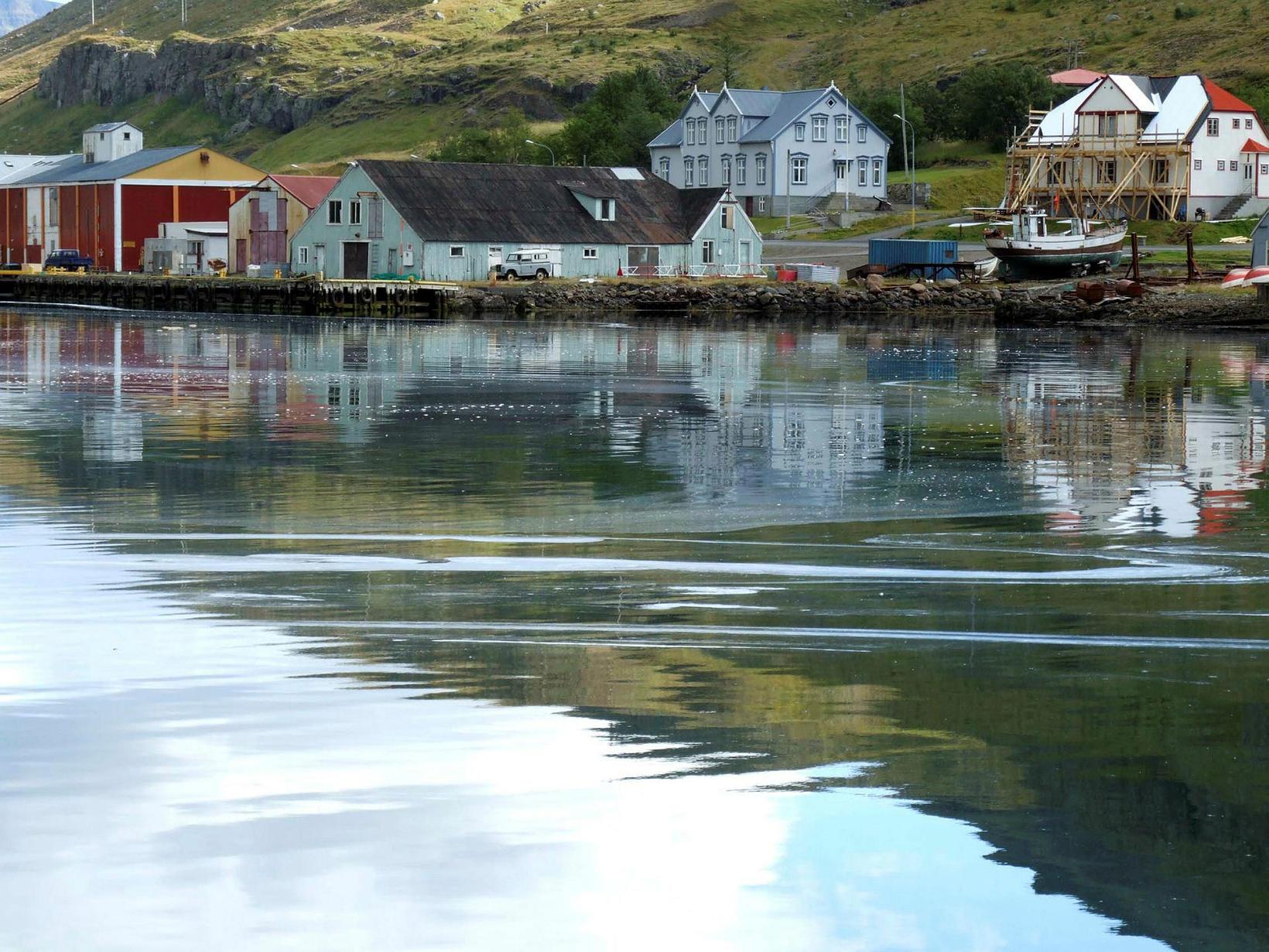 Ljóst er að bæjarmyndin mun breytast nokkuð á Seyðisfirði.