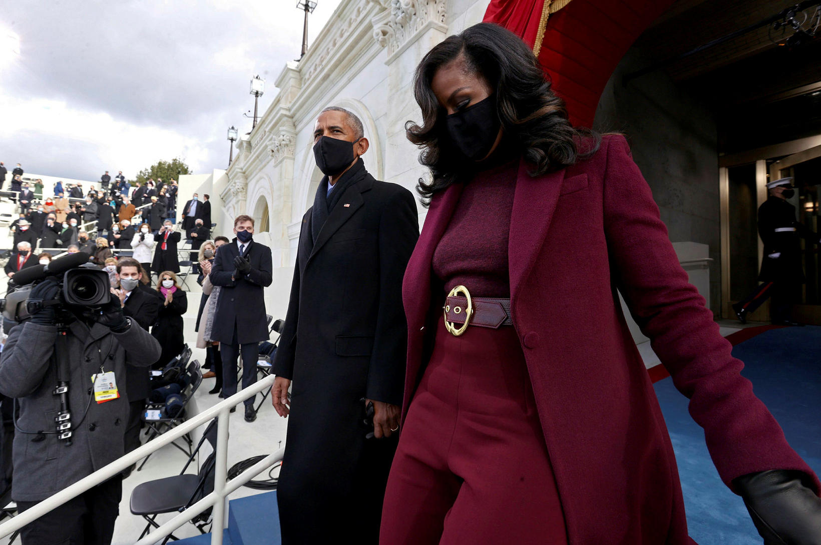 Michelle Obama stal senunni.