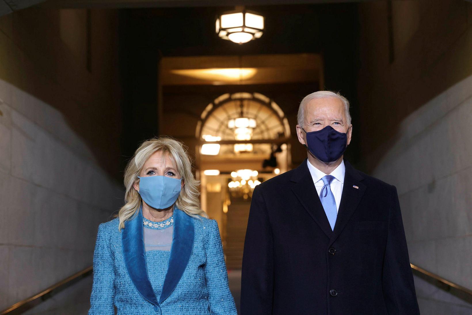 Forsetahjónin, Jill Biden og Joe Biden.