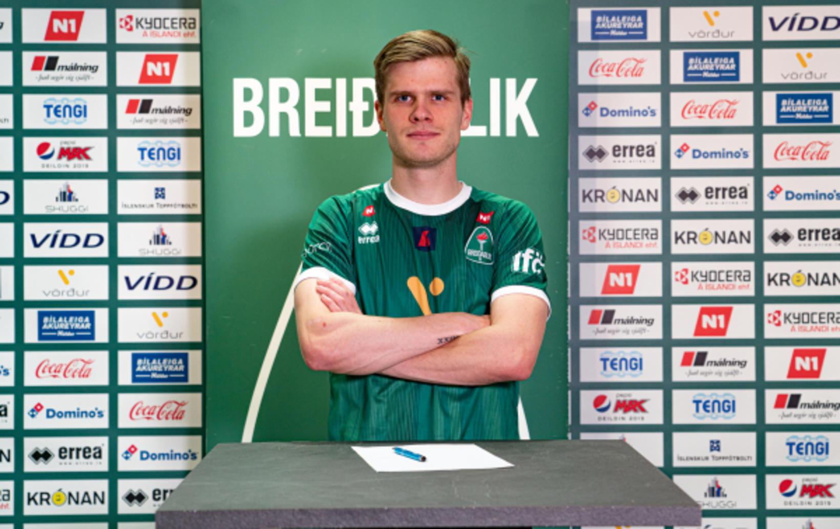 Hægri bakvörðurinn Davíð Örn Atlason er kominn til Breiðabliks frá …