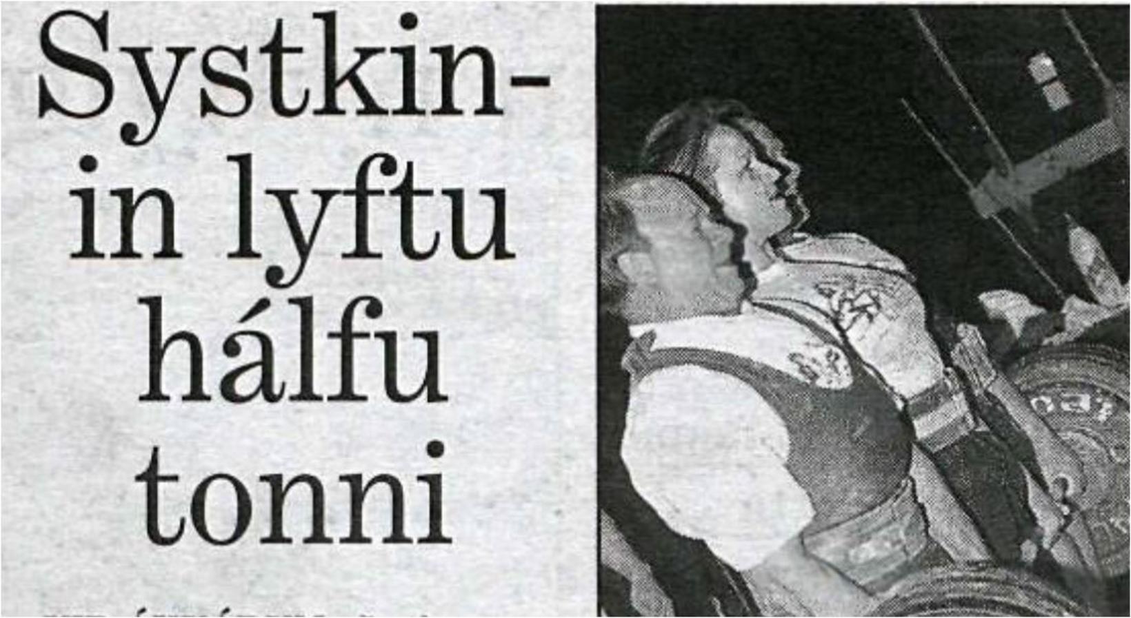 Nína segir það ákaflega eftirminnilegt atvik þegar þau Skúli og …