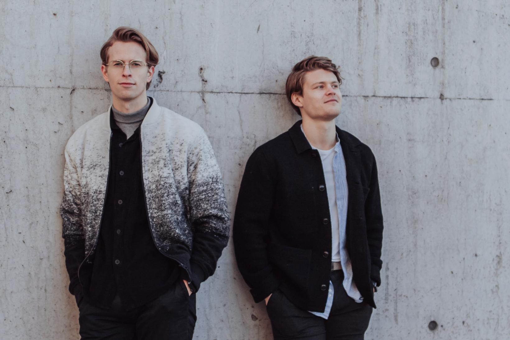 Kjartan Þórisson stofnandi og Jón Hilmar Karlsson, framkvæmdastjóri Noona.