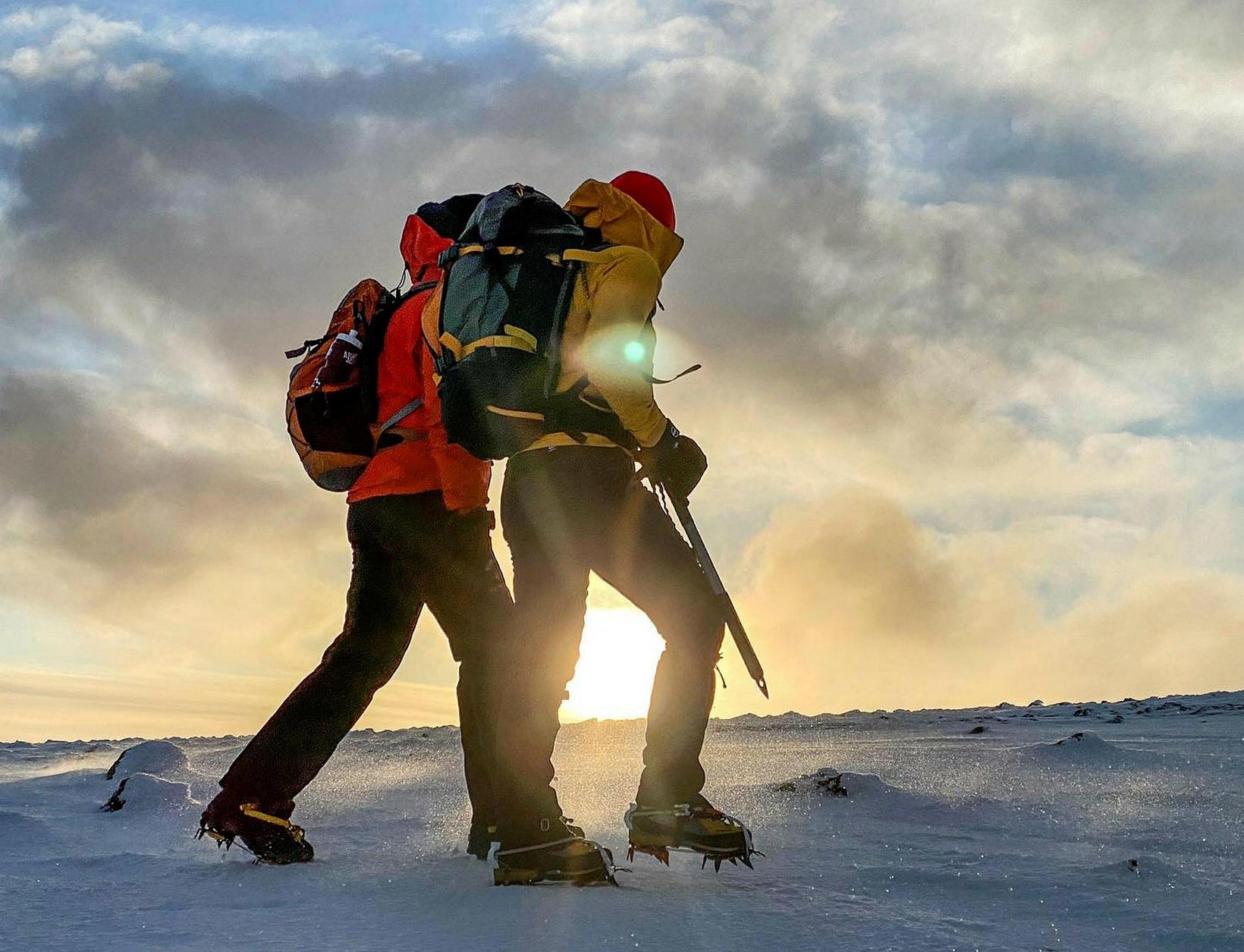 Sigurður og Heimir stefna á Everest.