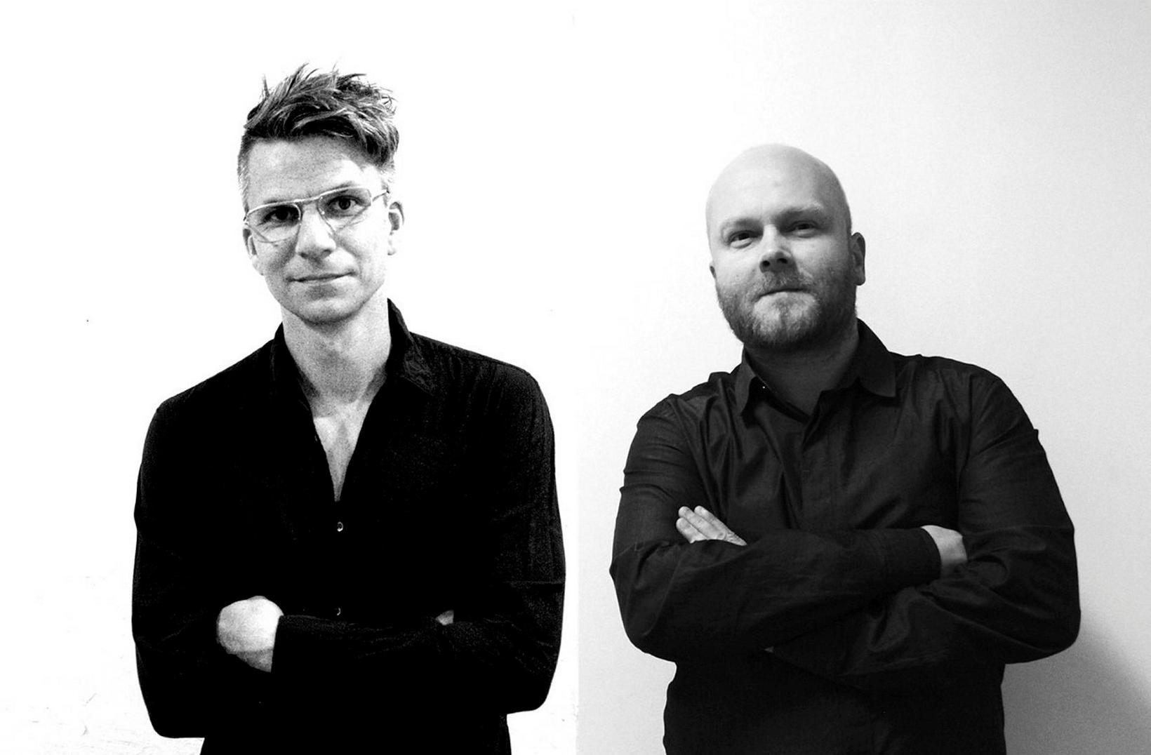 Kristján Eggertsson og Kristján Örn Kjartansson stofnuðu arkitektastofuna KRADS.