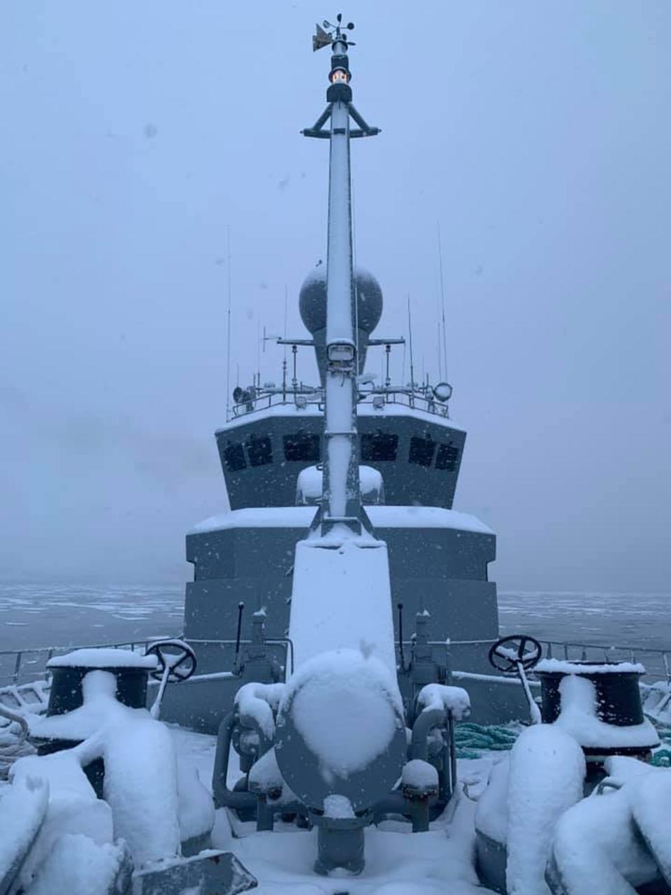 Varðskipið Týr á Akureyri
