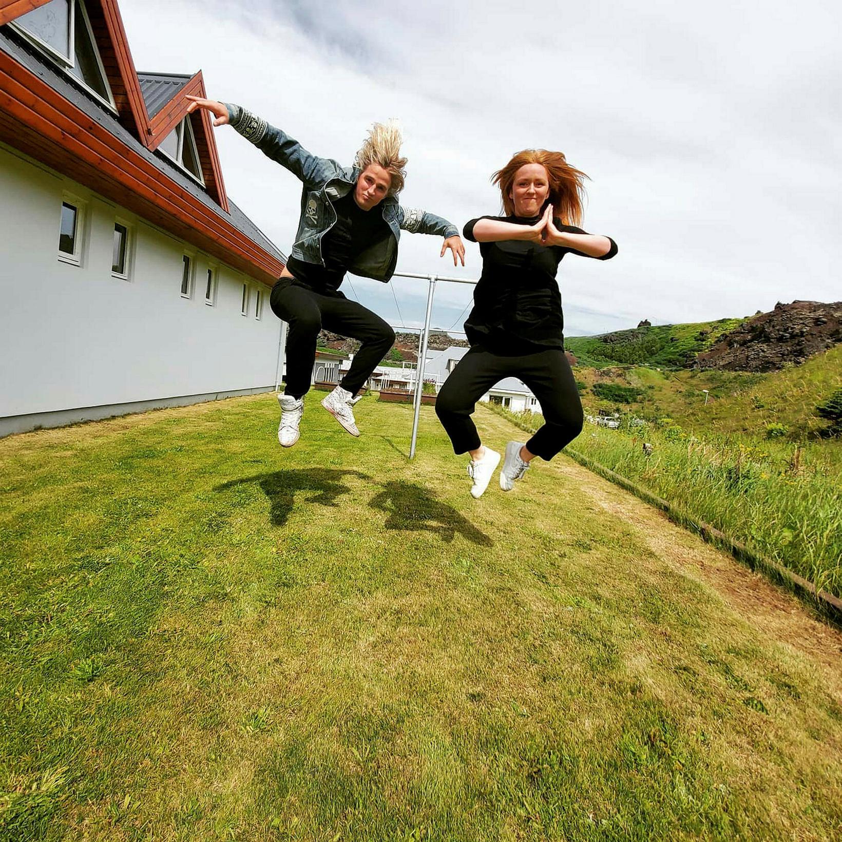 Tryggvi og Guðný eiginkona hans eru gott teymi.
