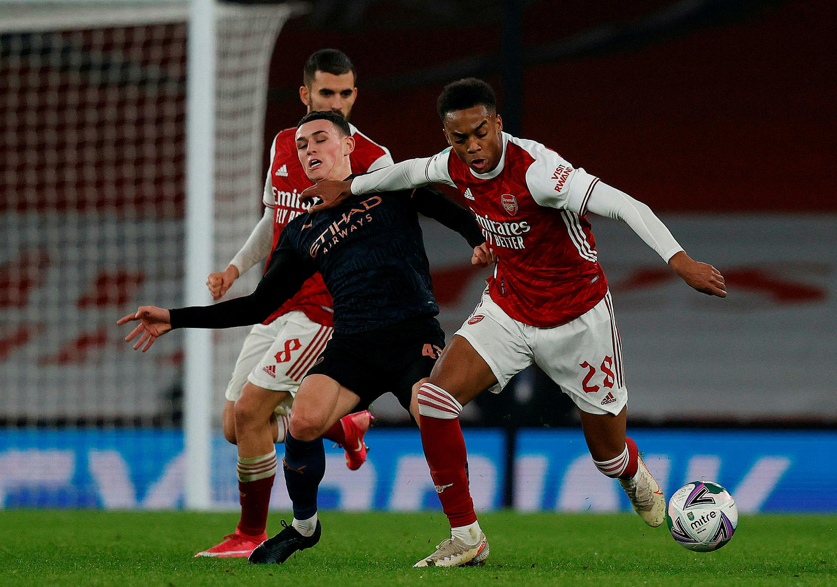 Joe Willock er kominn til Newcastle í láni frá Arsenal …