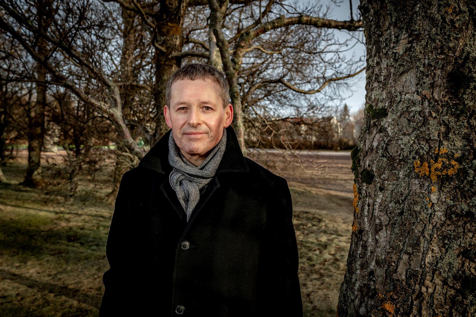 Björn Hjálmarsson minnist látins sonar, Hjálmars Björnssonar, en Hjálmar hefði …