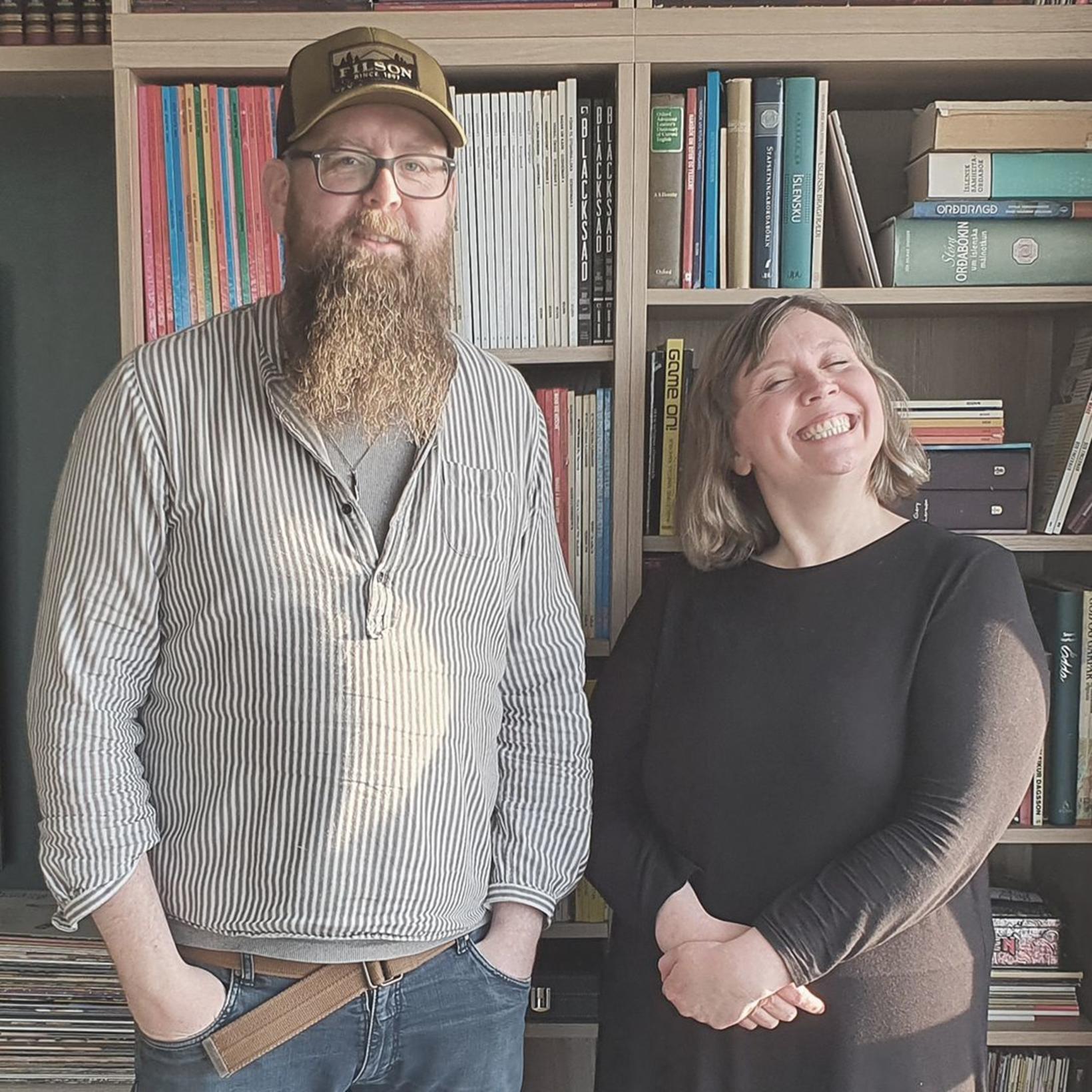 Snæbjörn Ragnarsson og Lóa Hlín Hjálmtýsdóttir.