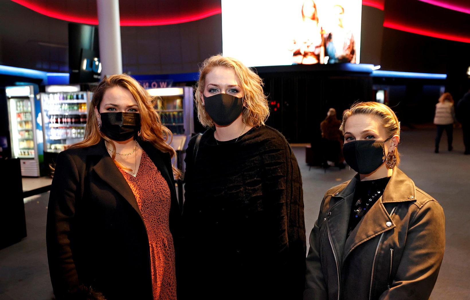 Ylfa Marín Haraldsdóttir, Ólöf Birna Torfadóttir og Ásta Júlía Elíasdóttir.